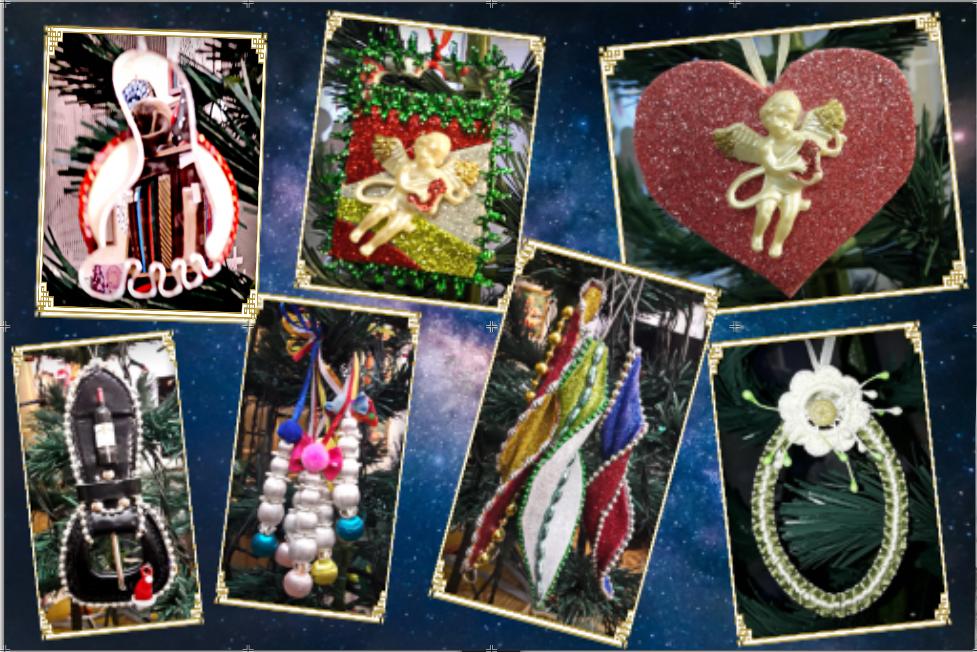 Новогодние игрушки Надежды Большаковой